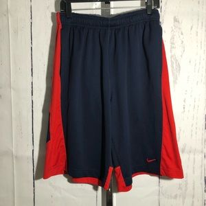 Nike Men's athletic basketball shorts dri-fit B19
